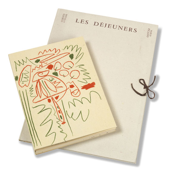 Douglas Cooper - Pablo Picasso. Les Déjeuners. 2 Bde.