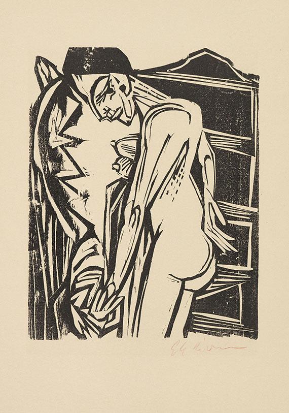 Will Grohmann - Kirchner-Zeichnungen -