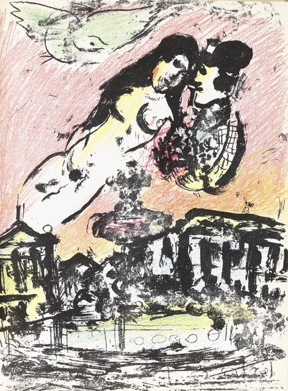 Marc Chagall - Chagall Lithographie II. Dabei: Les Céramiques et Sculptures