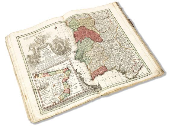 Matthäus Seutter - Sammel-Atlas