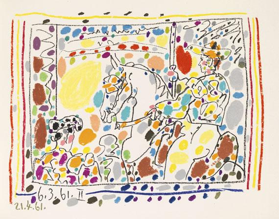 Pablo Picasso - A los torros