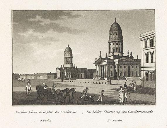 Friedrich August Calau - Vues de Berlin de Potsdam