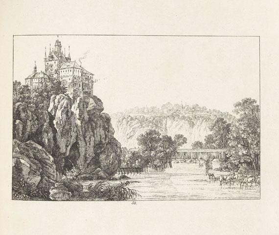 Carl August Richter - Ansichten von Dresden