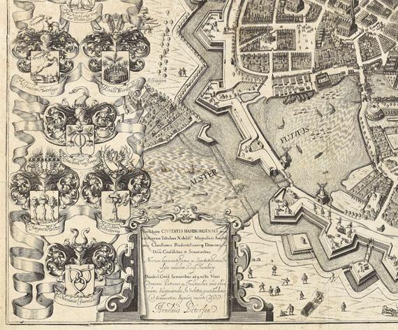 - 1 Bl. Hamburgum ... Novam hanc civitatis Hamburgensis (Arent Pietersen), 1644 - Weitere Abbildung