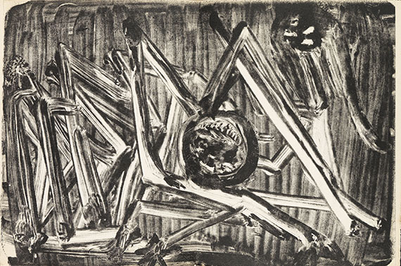 Henri Michaux - Meidosems. Dabei: Movements. 2 Werke.