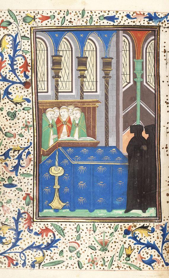 Manuskripte - Stundenbuch. Südl. Niederlande, um 1450