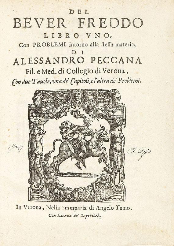 Alessandro Peccana - Del bever freddo