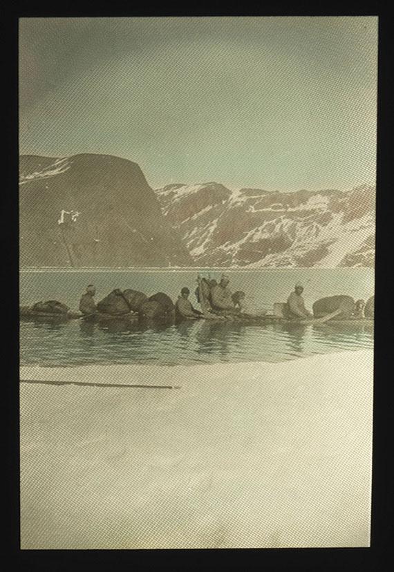 Knud Rasmussen - Fotosammlung und Dokumentation Thule-Expeditionen. -