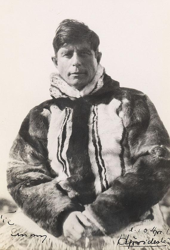 Knud Rasmussen - Fotosammlung und Dokumentation Thule-Expeditionen.