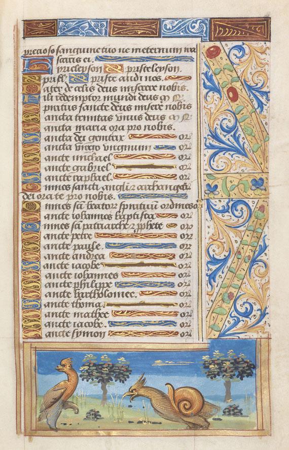 Manuskripte - Stundenbuch. Paris, um 1510. -