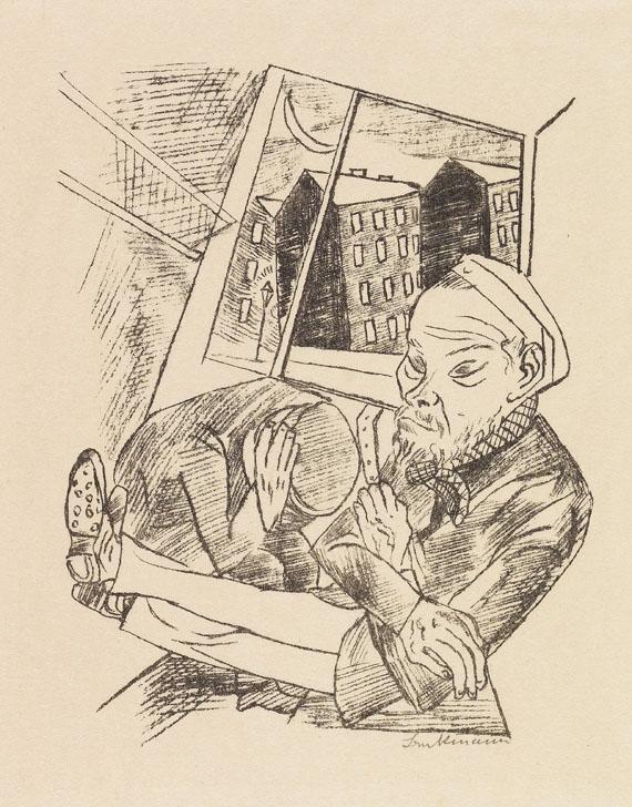 Max Beckmann - Stadtnacht - Weitere Abbildung