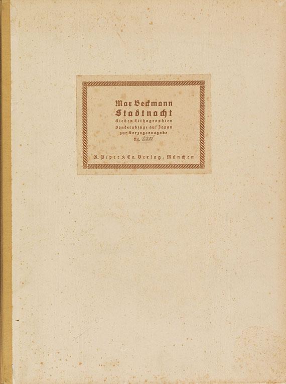 Max Beckmann - Stadtnacht