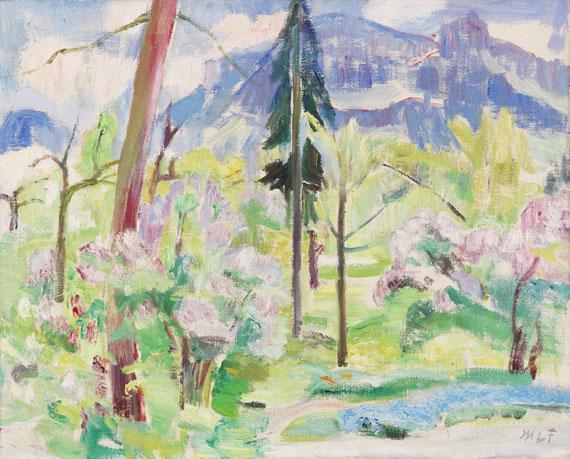 Maria Caspar-Filser - Blick auf den Riesenkopf