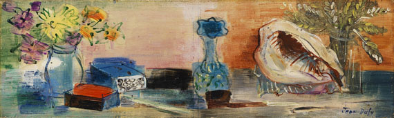 Jean Dufy - Nature morte au coquillage