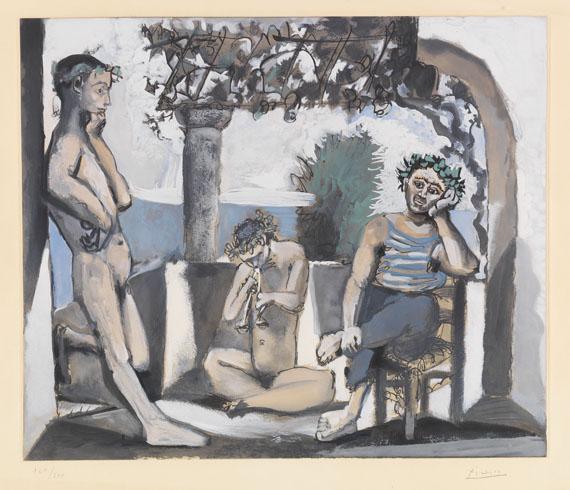 Pablo Picasso - Bacchanale