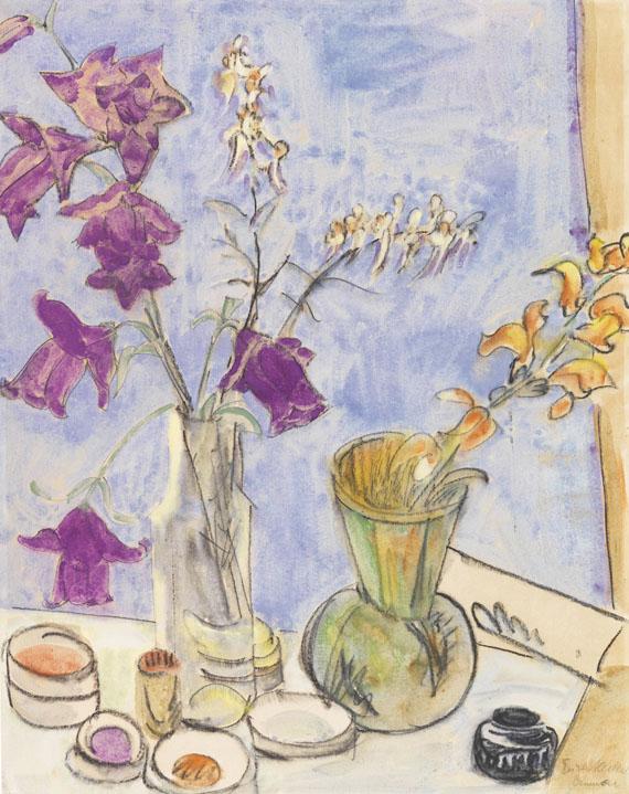 Erich Heckel - Glockenblumen (Blumen)