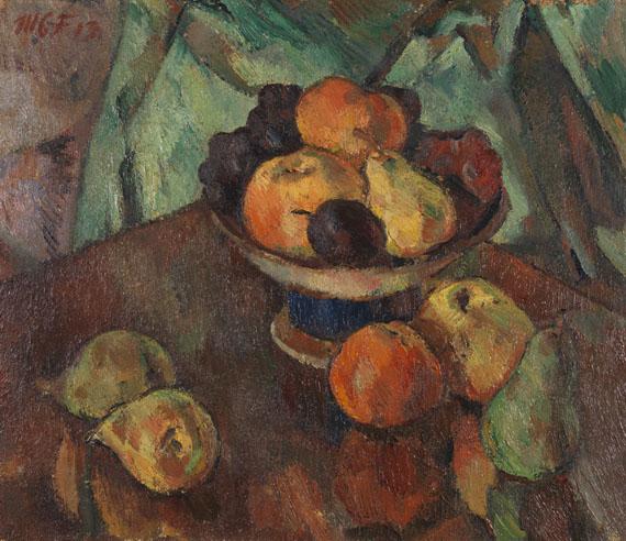 Maria Caspar-Filser - Stillleben mit Äpfeln und Birnen