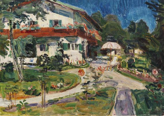 Maria Caspar-Filser - Haus im Garten