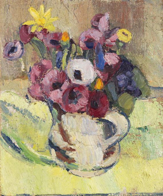 Maria Caspar-Filser - Kleiner Blumenstrauß (Anemonen)