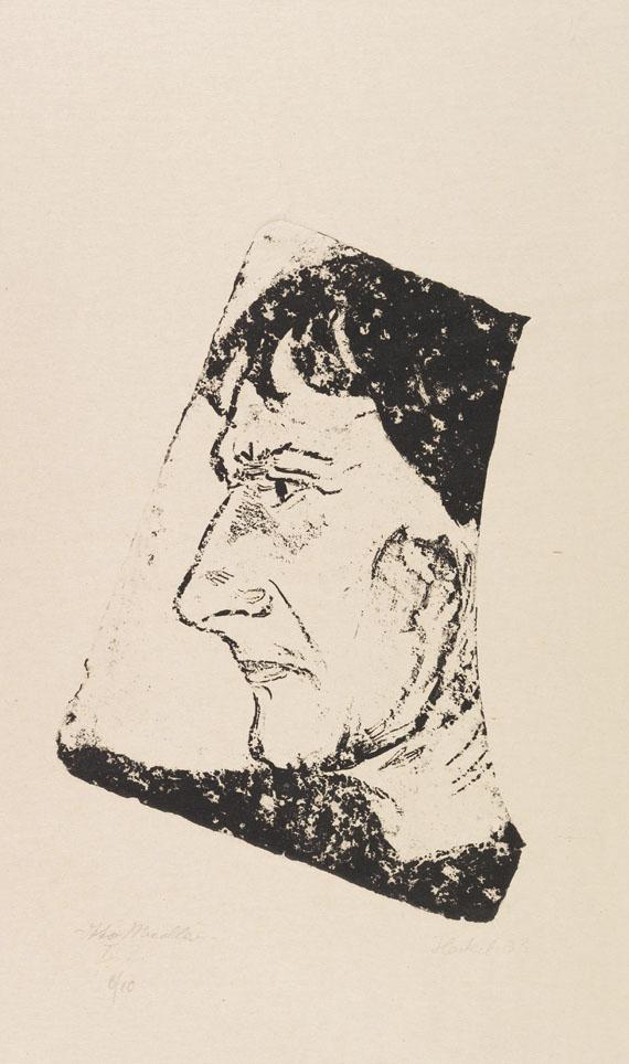 Erich Heckel - Bildnis Otto Mueller