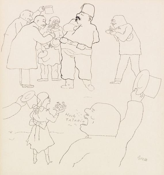 George Grosz - Hoch Tatarin