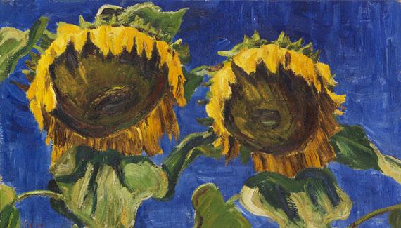 Arnold Balwé - Sonnenblumen