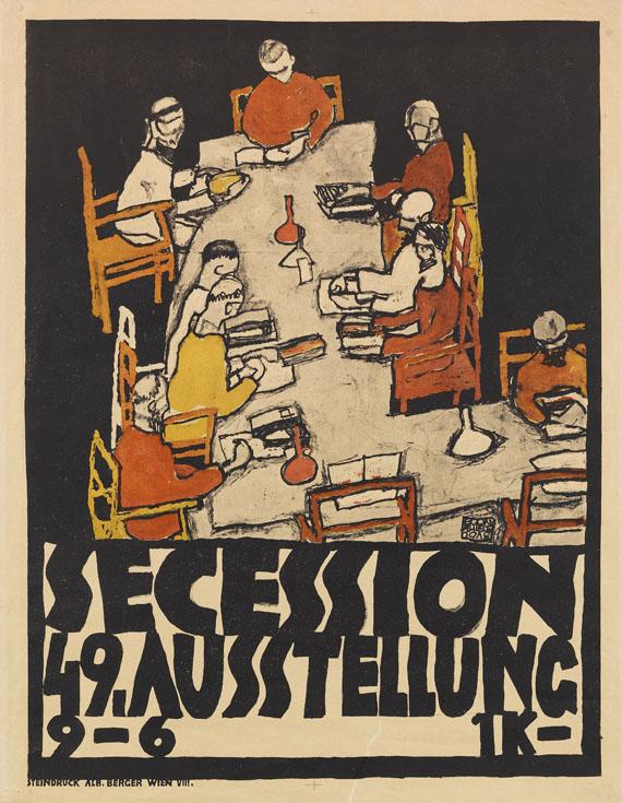 Egon Schiele - Secession 49. Ausstellung