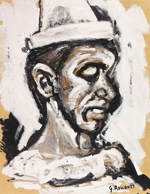 Georges Rouault - Ohne Titel (Clown)