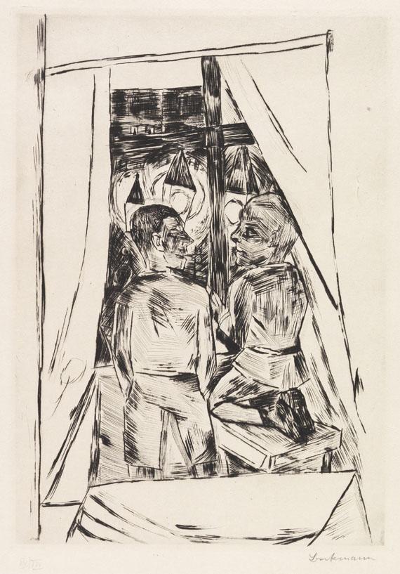 Max Beckmann - Kinder am Fenster