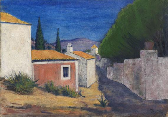 Werner Heldt - Häuser in Andraitx de Mallorca