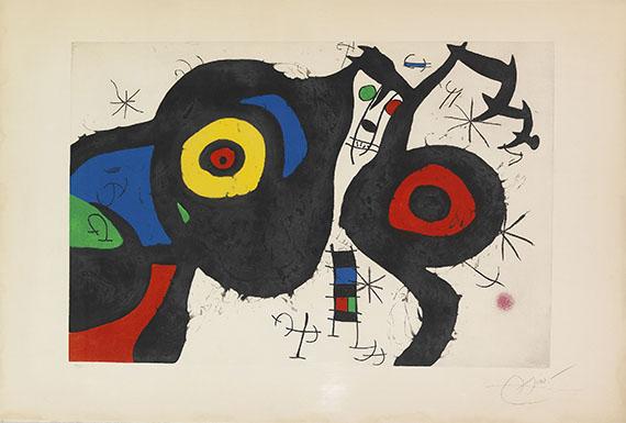 Joan Miró - Les Deux Amis