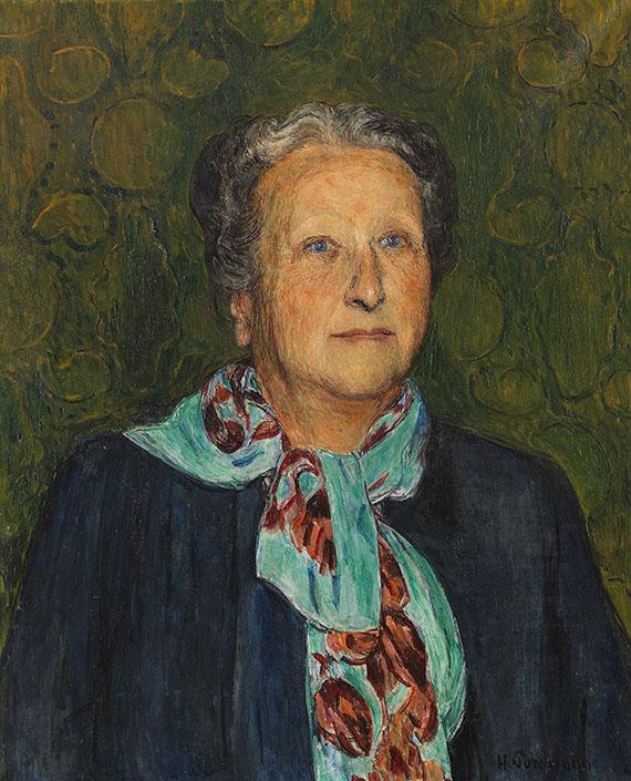Hans Purrmann - Bildnis Rosette Surbeck