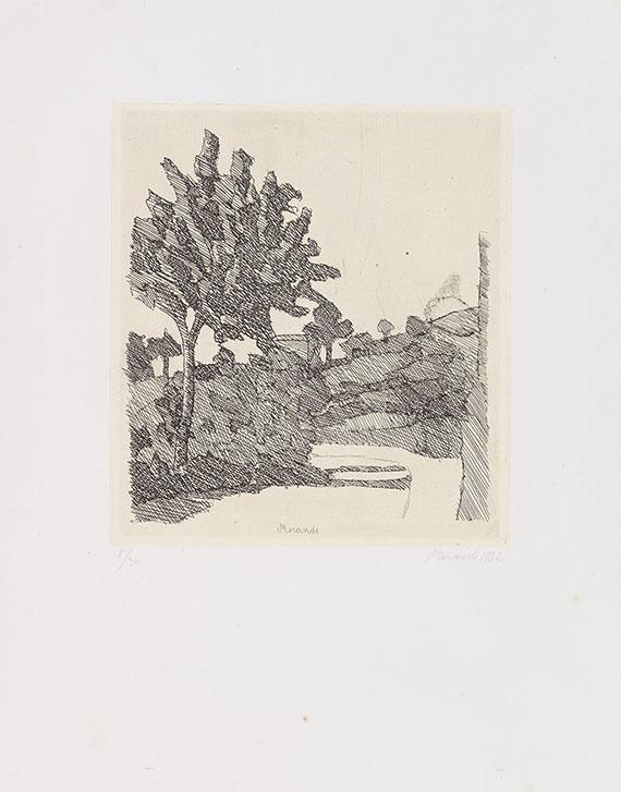 Giorgio Morandi - Paesaggio di Grizzana