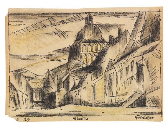 Lyonel Feininger - Ribnitz