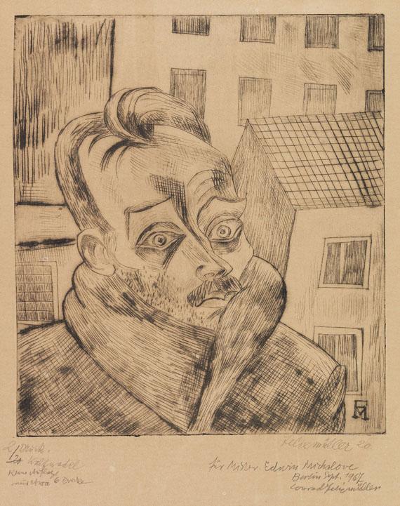 Conrad Felixmüller - Der Arbeitslose (Max John)