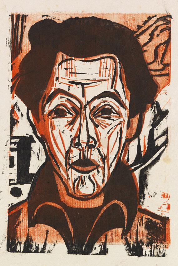Ernst Ludwig Kirchner - Selbstportrait