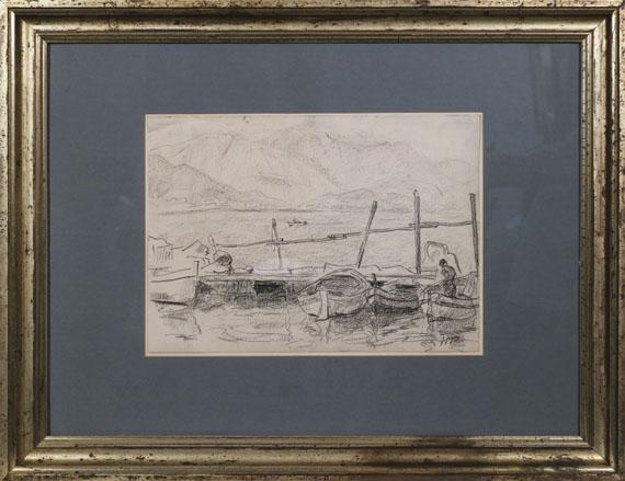 Hermann Max Pechstein - Genfer See - Rahmenbild