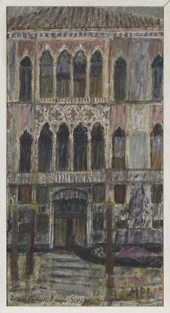 Max Peiffer Watenphul - Venedig, Palazzo Contarini degli Scrigni - Frame image