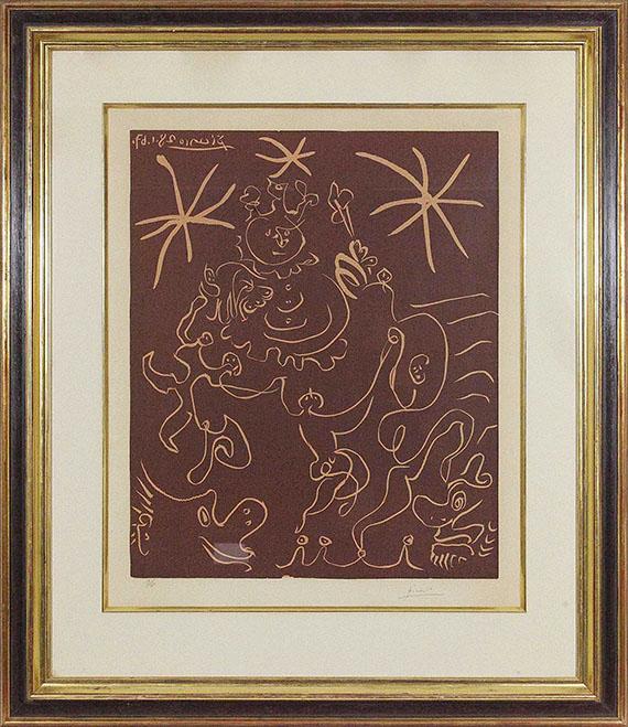 Pablo Picasso - Carnaval - Rahmenbild