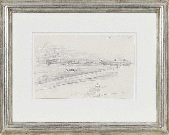 Lyonel Feininger - Hochseeschlepper - Frame image
