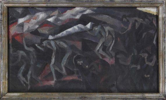 Wladimir Georgiewitsch von Bechtejeff - Begräbnis eines Helden (Eroica) - Rahmenbild