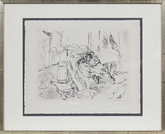 Max Beckmann - Liebespaar I - Rahmenbild