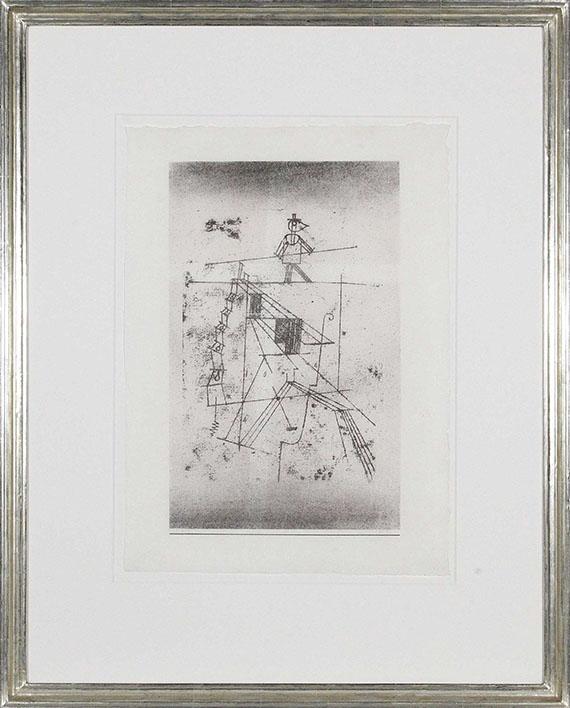 Paul Klee - Seiltänzer - Frame image