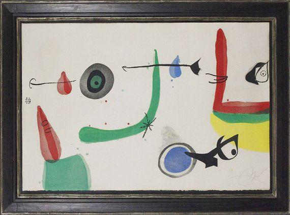 Joan Miró - Deballage II - Frame image
