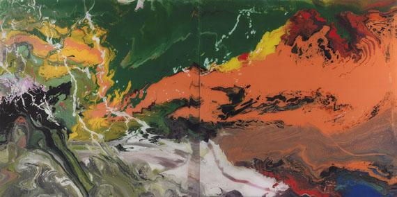 Gerhard Richter - Flow