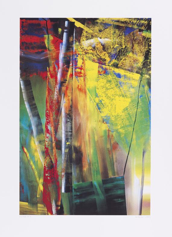 Gerhard Richter - Z-Exemplar: Victoria I Victoria II