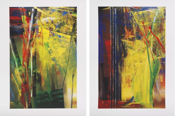 Gerhard Richter - Victoria I/ Victoria II