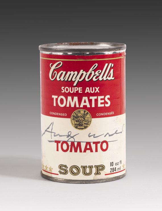 Andy Warhol - Campbell's Soup Can: Tomato Soup