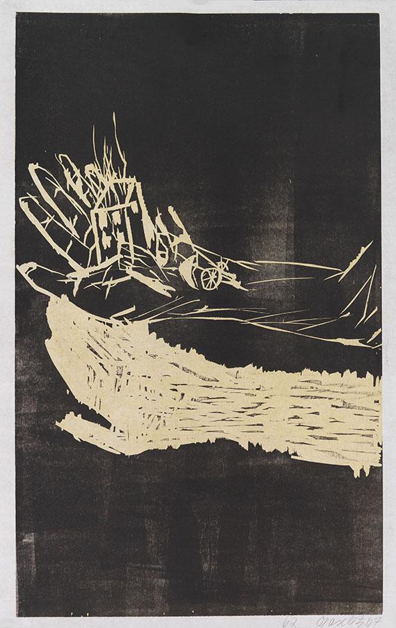 Georg Baselitz - Es in der Hand haben