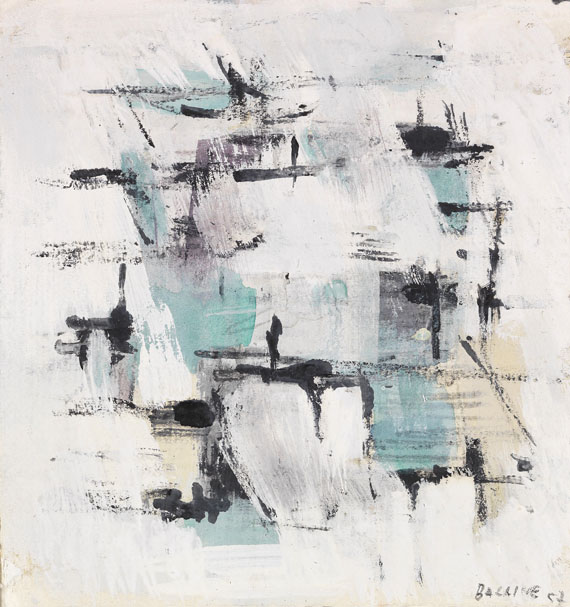 Jean René Bazaine - Abstrakte Komposition